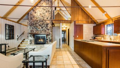 Photo for Elegant 4BR Mountain Retreat w/ Open-Air Hot Tub & Gourmet Kitchen