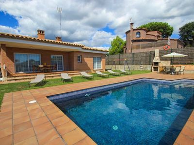 Photo for Club Villamar - Lovely villa with private swimming pool , sea view and wifi