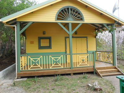 Photo for SMALL VANILLA TYPICALLY CREOLE BUNGALOW