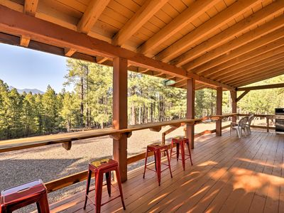 Photo for Home w/Amazing Views, Sauna, Huge Deck & Fire Pit!