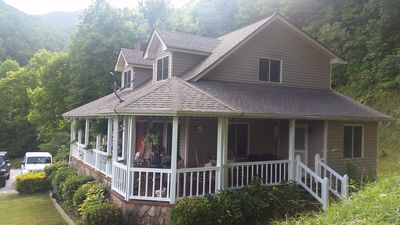 Photo for 8 Mins to WCU/Views/Game Rm/Stunning View Porch & Dining/Park-like 3 acres/Wifi