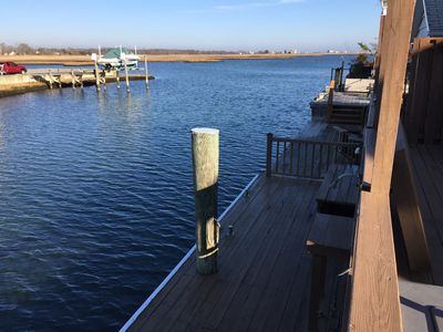 Photo for Relaxing Smith Point Beach House on Private Canal