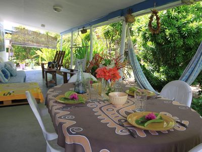 Photo for Large house with large garden 200 meters from the beach