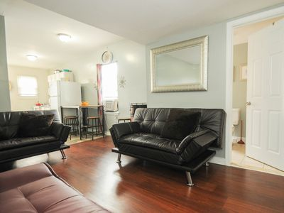 Photo for Beautiful New Private Open Style Stunning 2 Bedroom Apt