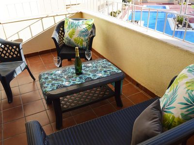 Photo for Lovely Apartment Pool View - Los Alcazares
