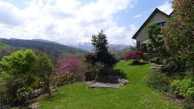 Photo for Mountain house comfortable, large terrace facing south, exceptional view