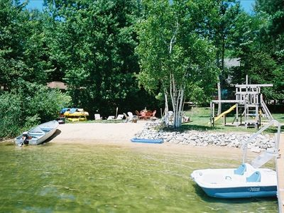 Beautiful beach and lakefront for family fun!