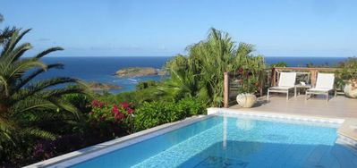 Villa Maracuja  -  Ocean View - Located in  Fabulous Vitet with Private Pool