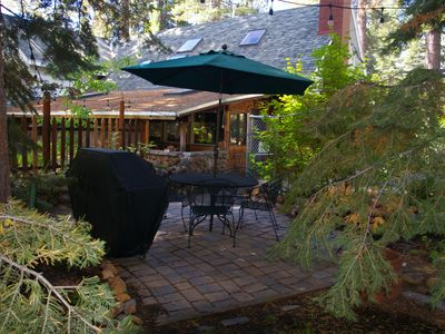 Photo for Lake Tahoe, 6th night free! On golf course, Beautiful Knotty Pine, WiFi, DirecTV