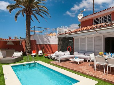 Photo for Vacation home Deluxe Villa at the Beach Front in Gran Canaria/Maspalomas - 10 persons, 5 bedrooms
