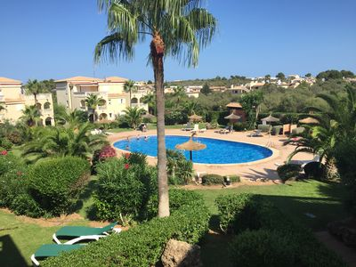 Photo for STYLISH FLAT WITH POOL IN CALA ANGUILA