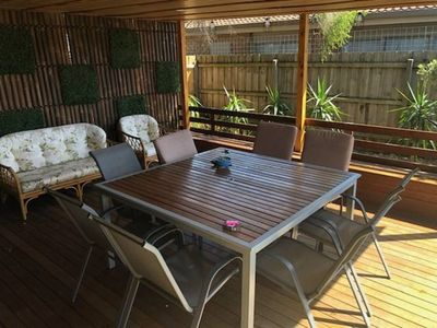 Photo for Summer Holiday Entertainers Delight - 10 minute walk to the beach and shops