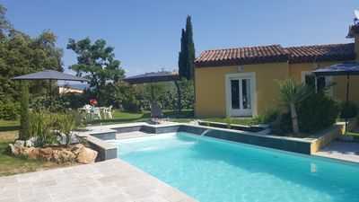Photo for THE PROVENCAL VILLA, suite 2 bedrooms and bathroom. Breakfast included