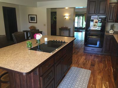 Fully stocked kitchen, new appliances and cabinets