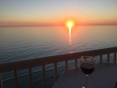 Photo for Gulf Front 16th Floor, Amazing Views & Sunsets.  Lots of Amenites.  Sleeps 8.
