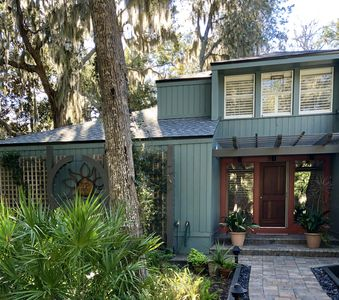Photo for Wooded paradise, close to beach and marsh, quiet