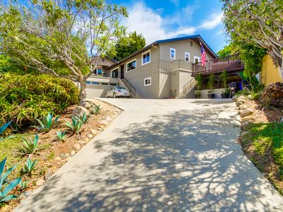 Photo for OCEANVIEW VILLA with Hot Tub in Beautiful Pacific Beach