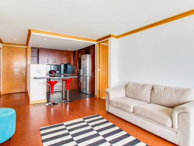 Photo for Oceanview, dog-friendly apartment with shared pool, sauna, fitness center!