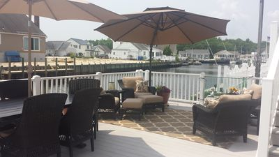 Photo for Perfect Waterfront Vacation Home, Minutes to LBI Beaches and Barnegat Bay