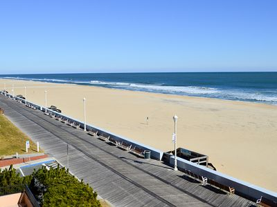 Photo for Great Oceanfront on Boardwalk - Wi-Fi, Walk to Rides, Beach & Dining!