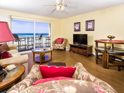 Photo for Pelican Isle 210: Beachfront, fitness room, heated pool, hot tub, BBQ grills.