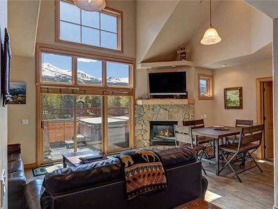 Photo for Gorgeous views, located downtown, private hot tub, remodeled!