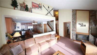 Photo for Lovely ski-in/ski-out condo with loft and private indoor hot tub, perfect for family