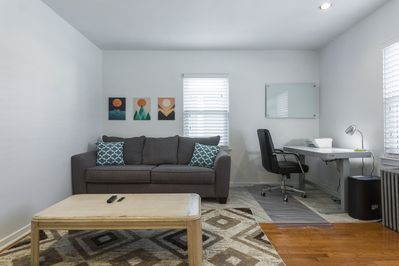 Cozy Living Room Area with Fast WiFi
