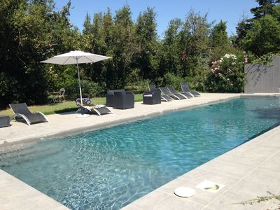 Photo for Authentic mas in the Camargue - Garden 10500 M2 - swimming pool - 14 to 16 people