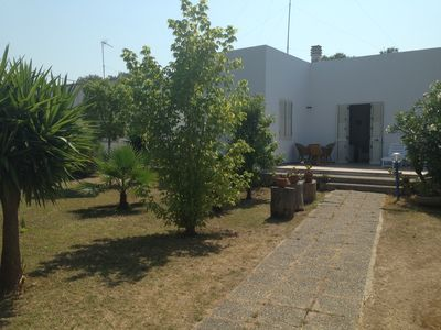 Photo for Villa surrounded by greenery just 500 meters from the sea