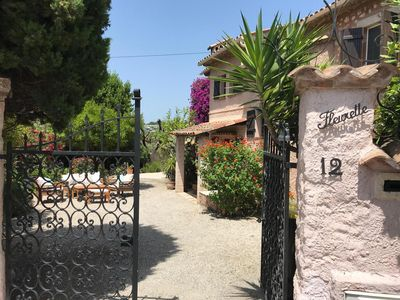 Photo for Villa Fleurette Antibes Family Friendly with Beautiful Mature Garden & Raised Po