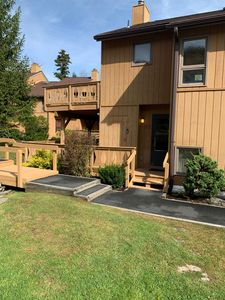 Photo for Stay ON Hunter Mountain in updated comfy 2 bed 2 bath with fireplace