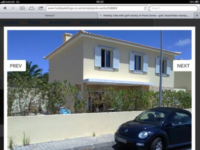 Photo for 3BR House Vacation Rental in Porto santo, Madeira islands
