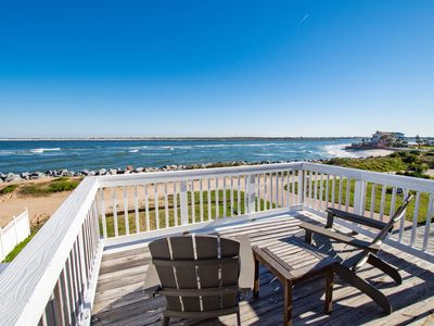 Photo for Spacious Oceanfront Home w/ Deck, 2 Balconies & Water-View Master Suite
