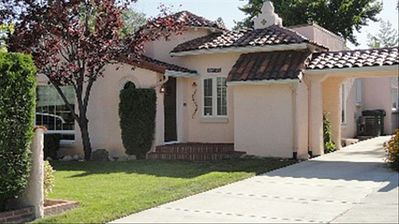 Unique and charming 1930's Spanish Colonial Bungalow with off street parking.