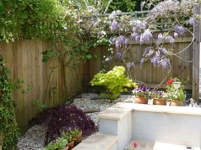 Photo for Holiday cottage in quiet location with parking, gardens, Wi Fi.