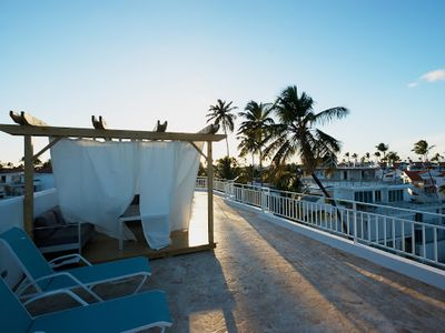 Photo for PUNTA CANA * LUXURIOUS PENTHOUSE SUITE * BEACH FRONT