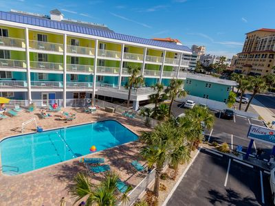 Photo for Affordable Efficiency in the Heart of Clearwater Beach #315 - Best Rate on the Beach!