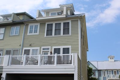 Back Balconies - Give View of Bay & Boat Slips!