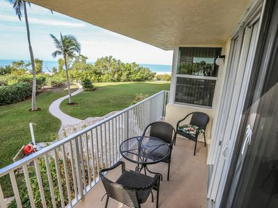 Photo for You will appreciate the beauty that this newly updated beachfront condominium at the Estero Beach and Tennis Club Unit 104C brings.