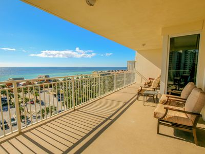 Photo for Spacious home w/ gulf views, shared swimming pool & fitness center on-site!