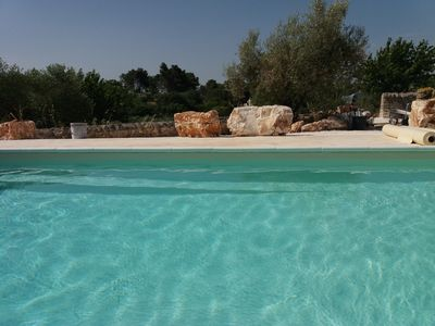 Photo for Lovely spaciuos two bedroom flat with terrace and swimming pool.