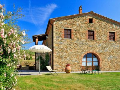 Photo for Vacation home Podere Camperchi (MSV124) in Monte San Savino - 8 persons, 4 bedrooms