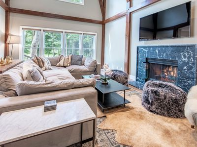 Photo for Built in 2018: 5BR home in Boyne Mountain gated community sleeps up to 18