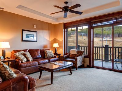 Photo for 2 br+Den, Slope-Facing Crystal Peak Unit, Sleeps 8