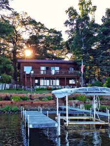 Photo for 113ft Perfect Sand On Cross Lake, Cozy 4BR sleeps 12+ Awesome Views, Sandy Shore