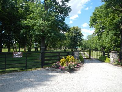 Photo for Linden Place is a new gated Cabin located in the middle of Bluegrass Horse Farms