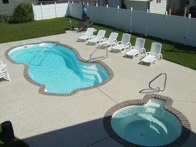 Photo for Aug. wks. avail. Inlet/Walk to d.town, Garden City & Pier; 6B/4BA W/Large pool!