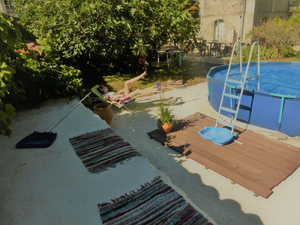 Medieval House With Shady Garden Above Ground Pool Garage Viviers Rhone Alpes Rentbyowner