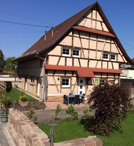 Photo for Charming cottage Les Colombages near Strasbourg and Obernai